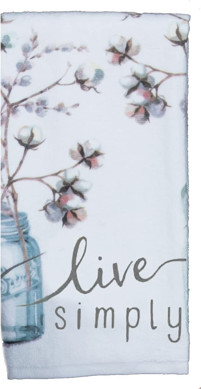 Kay Dee Designs R4110 Handmade Live Simply Terry Towel