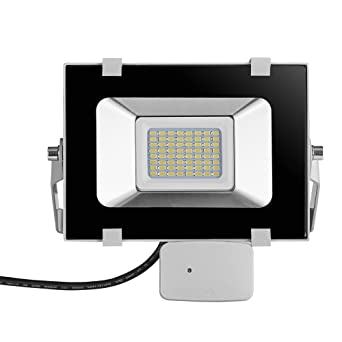 Viugreum 30W LED Motion Sensor Floodlight, Waterproof IP65, 3600LM, Daylight White(6000