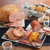 Gourmet Foods, Meats, Smoked Whole Bone-In Ham Canadian-Style Bacon Four 8 oz. Smoked Pork Chops 14 oz. Light-Smoked Summer Sausage Double-Smoked Summer Sausage Smoked Cheddar Chees