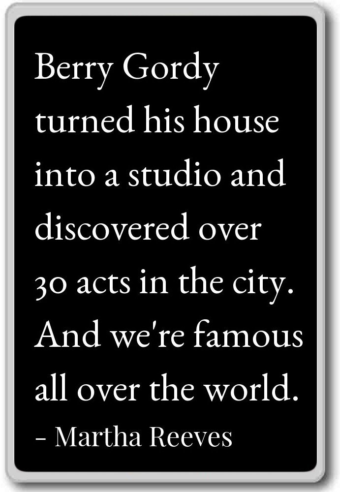 Amazoncom Berry Gordy Turned His House Into A Studio An