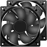 Strong Quiet 12025 Fan 120x120x25mm 12cm 120mm Computer Case Fan DC 12V Cooling Fan for Computer case 2Pin 2 Wire…