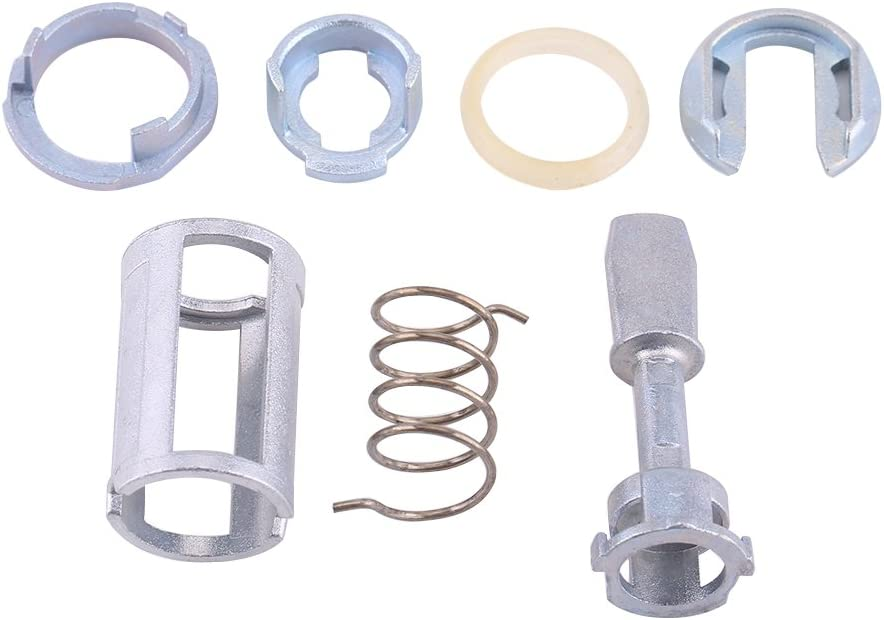 Door Lock Cylinder Repair Kit Front Left Right Replacement Parts for MK4