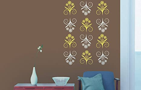Asian Paints Royale Play Wall Fashion Bliss Stencil Wall Sticker For Home And Office Wall Decor