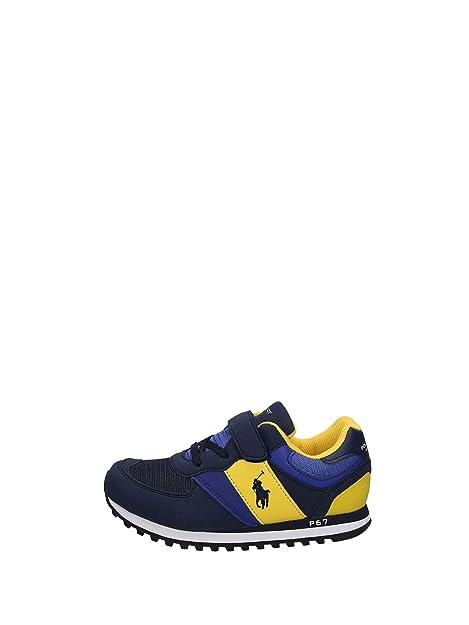 32e63670ba Ralph Lauren Zapatillas Para Niño Azul Size: 27: Amazon.es: Zapatos y  complementos