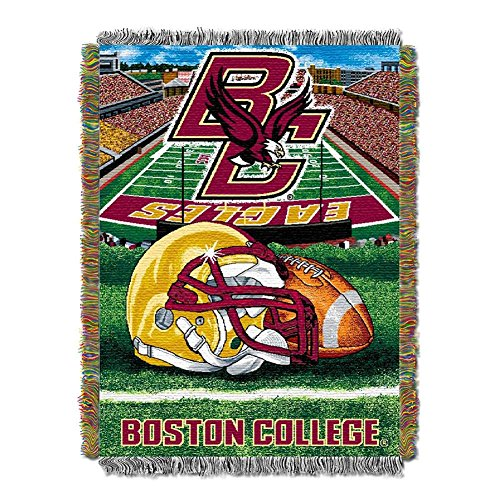 The Northwest Company Boston College BC Throw Blanket Afghan Tapestry (Throw College Afghan)