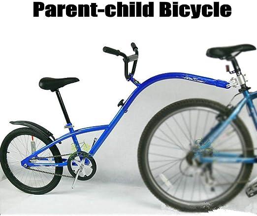 QWERTOUY Remolque de Bicicleta de montaña de 20 Pulgadas, Remolque ...