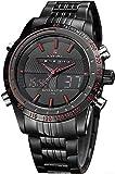 Naviforce Analog-Digital Black Dial Men's Watch-NF9024-BBR