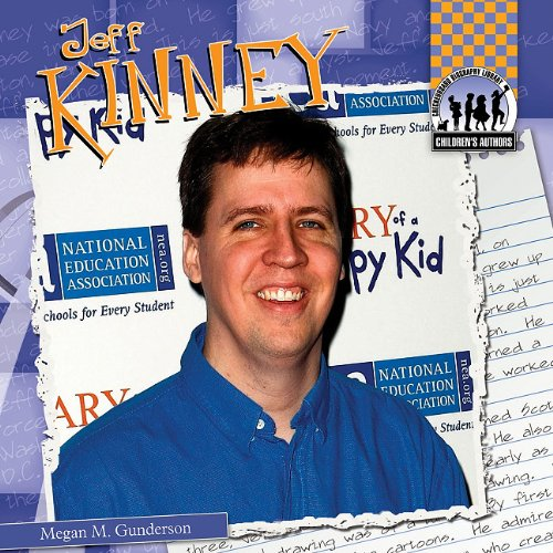 Jeff Kinney (Checkerboard Biography Library: Children's Authors (Library)) (Top Ten Authors Of The 21st Century)