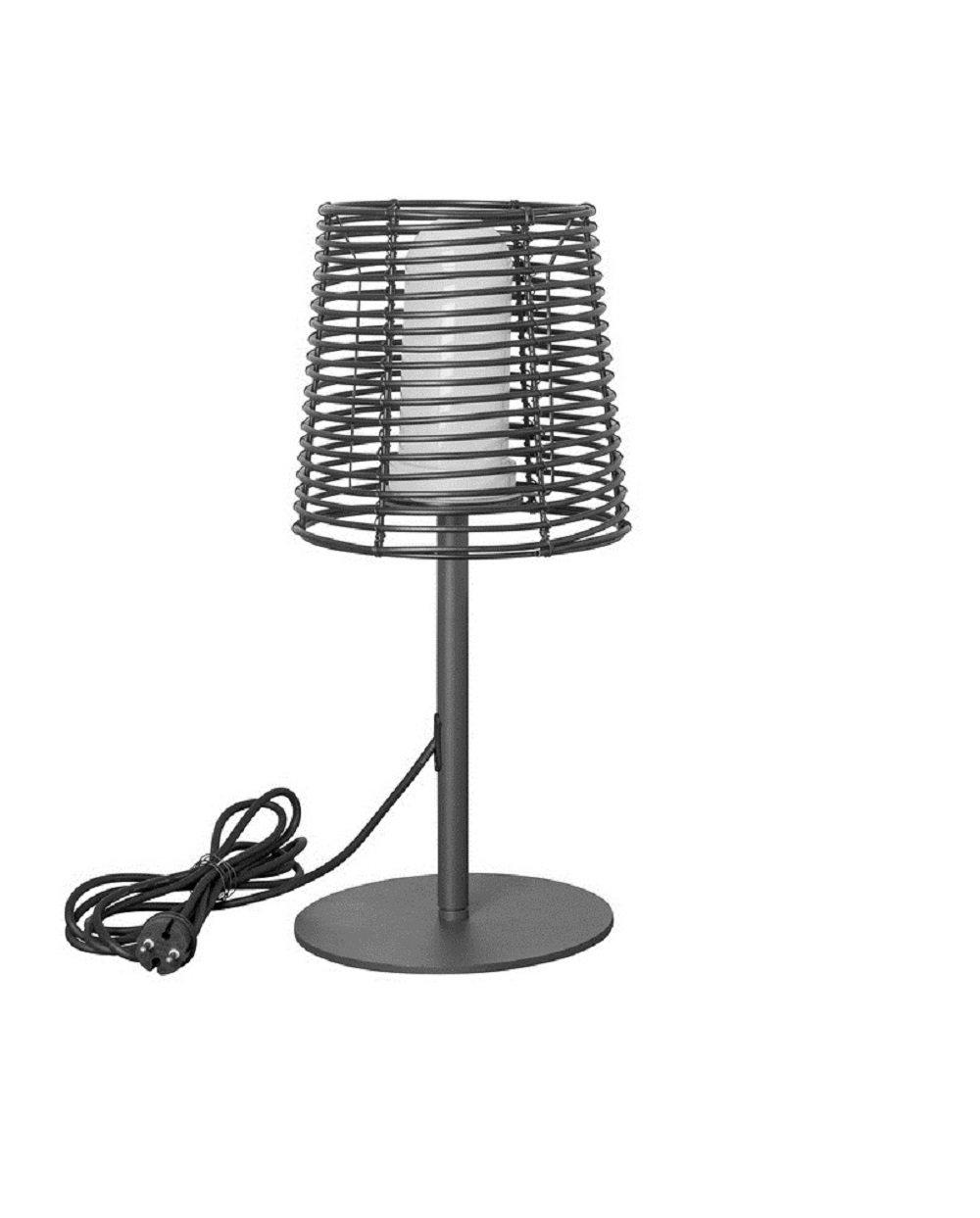 Airam Garda Tischleuchte LED Außenbeleuchtung E27, schwarz, 530x 224mm 530x 224mm Bot Lighting 4289792