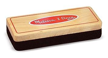melissa doug felt chalk eraser 1 in x 5 in x 2 in accessory