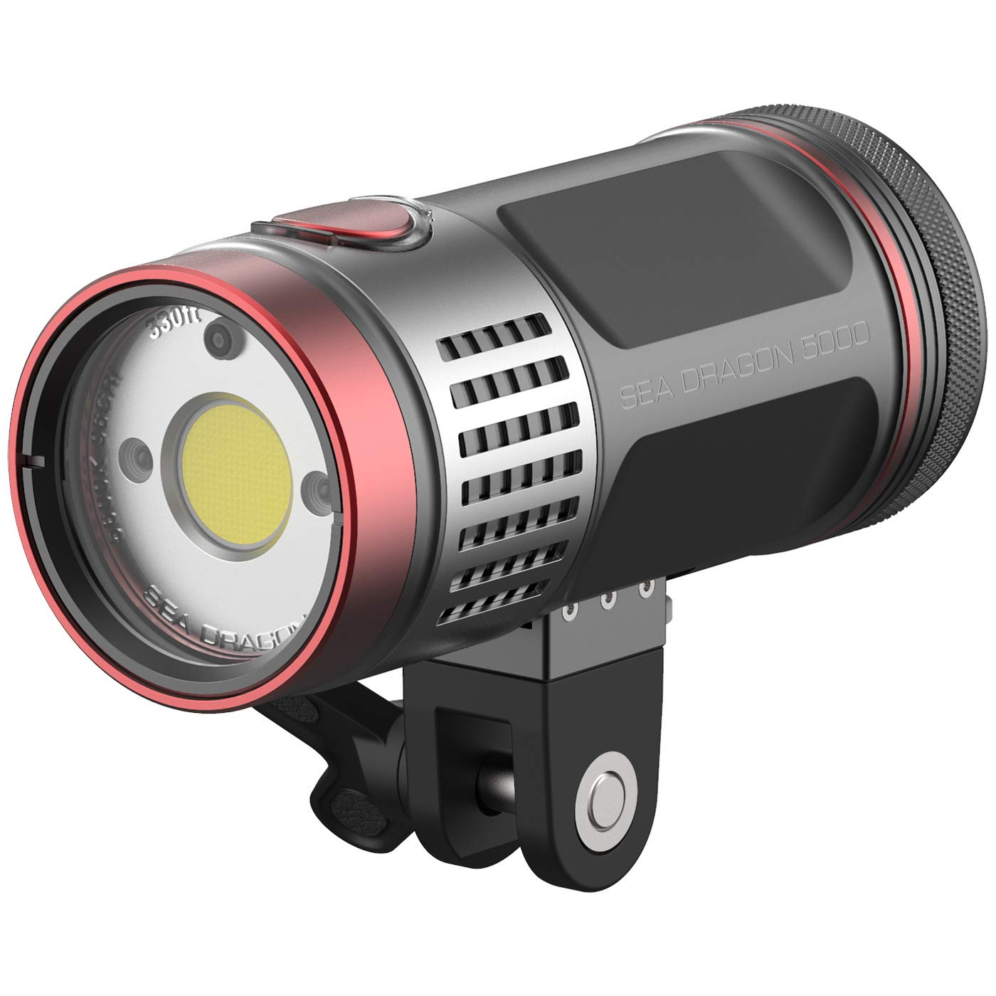 SeaLife Sea Dragon 5000F Photo/Video Dive Light with YS Adapter, Ball Joint Mount & Case (SL676)