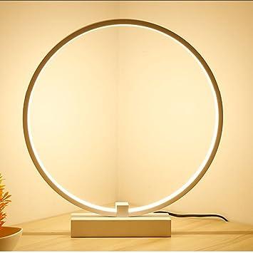 De Transmission Table MenéeModerne Aluminium Lampe En Acrylique Nordique LedD'art Hanamaki Cercle lFKuJ1cT3