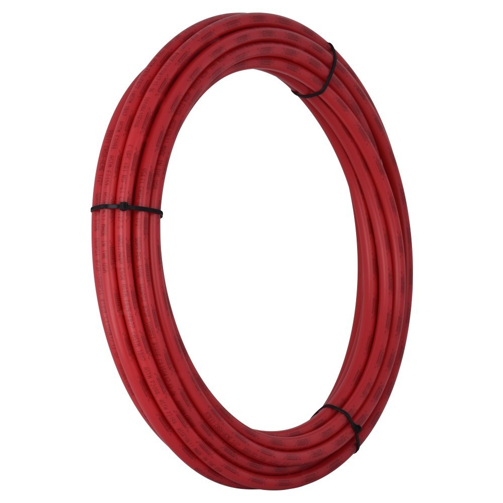 SharkBite U860R500 1/2-Inch PEX Tubing, 500 Feet, RED, for Residential and Commercial Potable Water Applications
