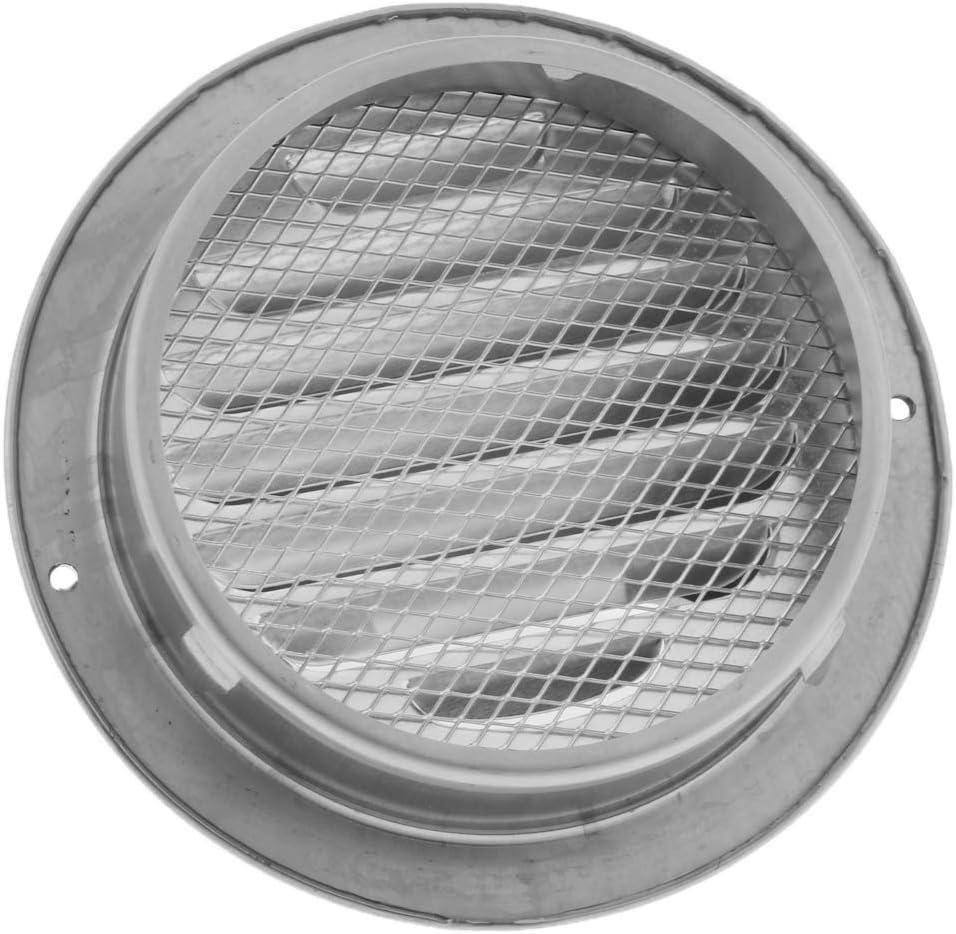 perfk Grille dA/ération en Acier Inoxydable Int/égr/ée Isolant Efficacement D/ébris et Poussi/ère 70mm