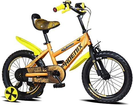 Bicicletas Para Niños Niña Naranja Niños 2-3-5-6-8 Años Niños ...