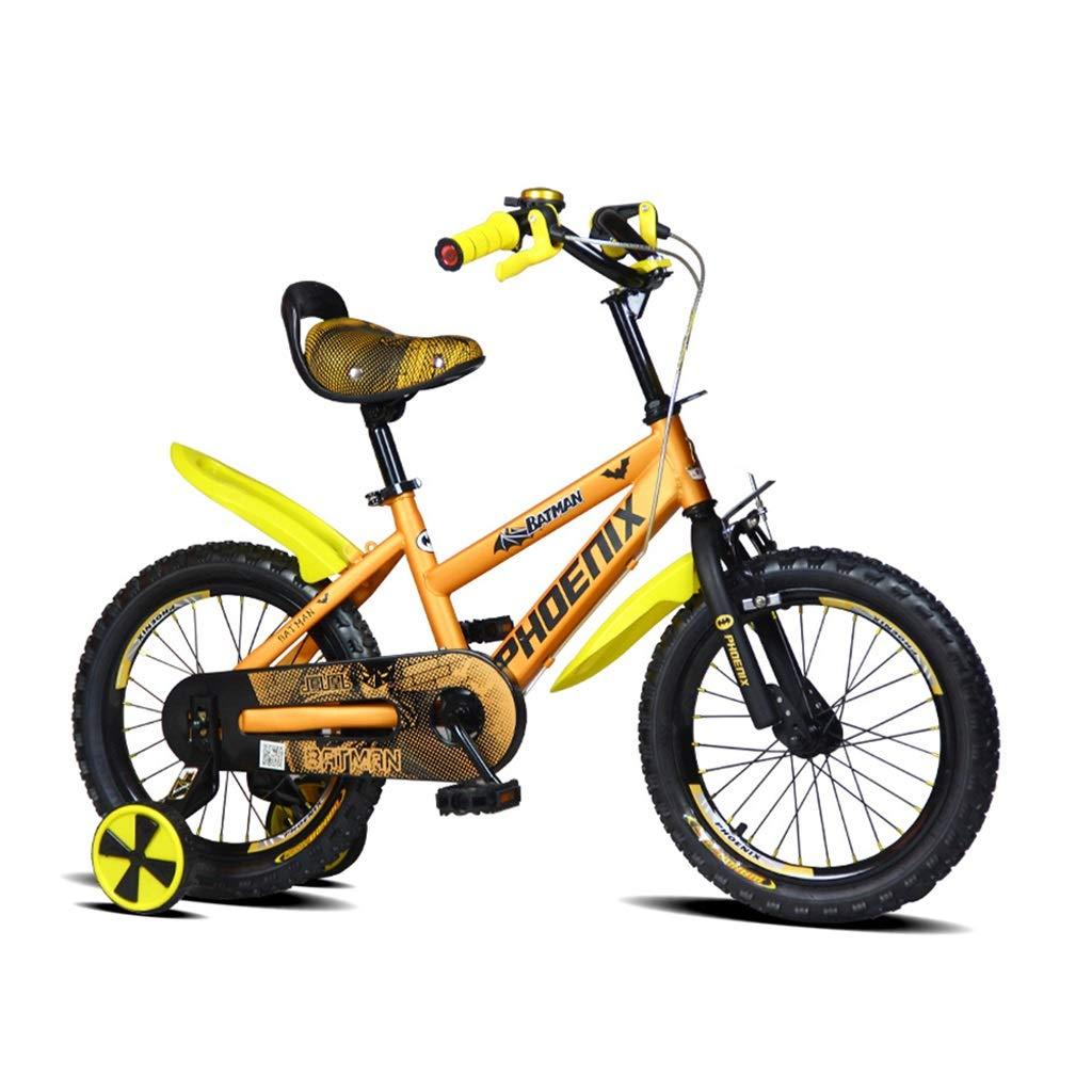 【ラッピング無料】 子供の自転車オレンジ色の女の子の自転車男の子の自転車2-3-5-6-8歳の子供の自転車アウトドアスポーツ自転車最高の贈り物 (Color : Orange, Size : (Color 14inches) : 14inches) 14inches Orange B07P46KNZS, ニュウカワムラ:ca207e78 --- arianechie.dominiotemporario.com
