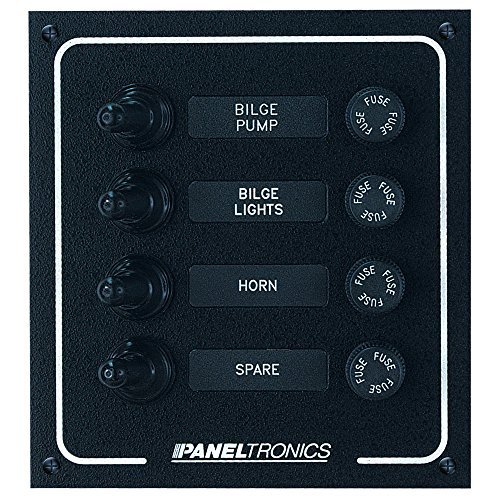 Paneltronics Waterproof DC 4 Position Booted Toggle & Fuse ()