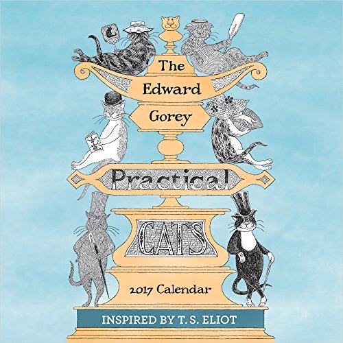 2017 The Edward Gorey Practical Cats Mini Wall Calendar