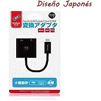 Sanbee Dock Nintendo Switch Portátil, USB C a HDMI Hub Adaptador con Type C Charging Port, 4K HDMI Output, Diseño Japonés