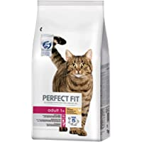 Perfect Fit Croquettes pour Chat Adulte Stérilisé, Riche en Poulet, 1 Sac de 7kg