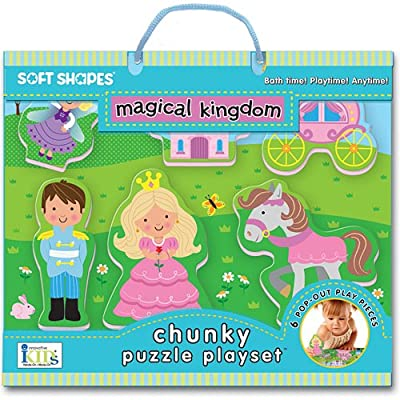 Innovative Kids Soft Shapes Chunky Puzzle Magical Kingdom Playset: Toys & Games