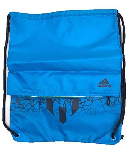 09d23ddb53 adidas Kids Messi Gym Sack Bag Blue  Amazon.co.uk  Shoes   Bags