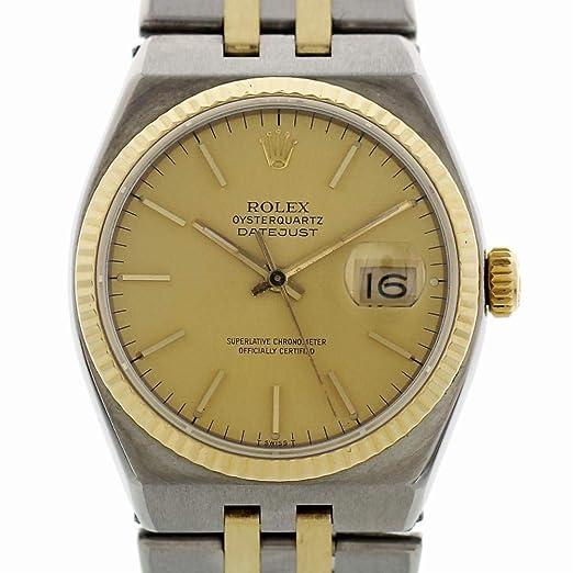 Rolex Reloj De Cuarzo Oysterquartz 17013 para Hombres: Rolex: Amazon.es: Relojes