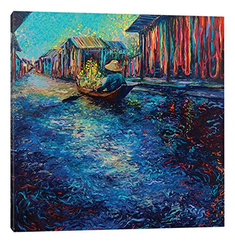 iCanvasART My Thai Floating Market Canvas Print, 37'' x 0.75'' x 37'' by iCanvasART