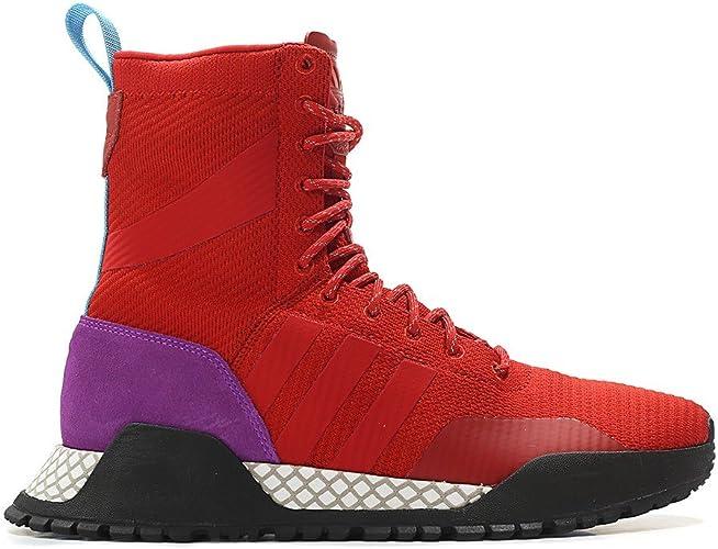adidas Men's Originals AF 1.3 PK Primeknit Boot REDPurpleBlack