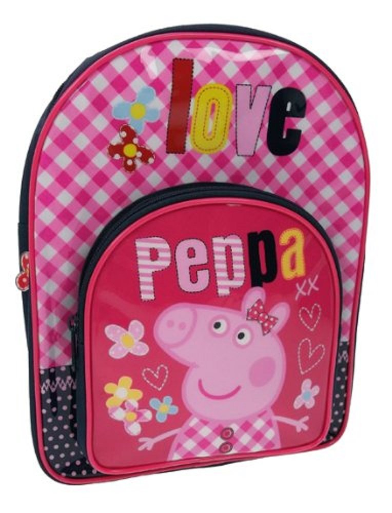 Peppa Love - Mochila escolar con diseño de Peppa Pig: Peppa Love Backpack: Amazon.es: Equipaje