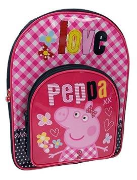 Peppa Love - Mochila escolar con diseño de Peppa Pig: Peppa Love Backpack: Amazon.es: Equipaje