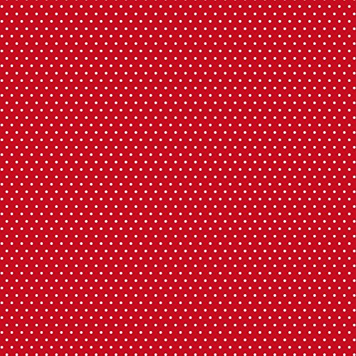 12 X 12 Dots (American Crafts 377830 Red Small Dot Core'dinations 12 Pack of 12 X 12