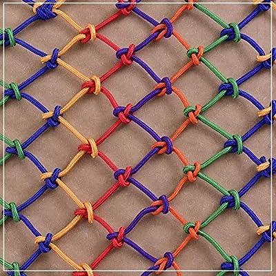 NIUFHW Red de protección Color Red de Seguridad hogar Escalera balcón Monedero jardín de Infantes Nylon Cuerda Decorativa Red Red de Decoracion (Size : 1 * 2m): Amazon.es: Hogar