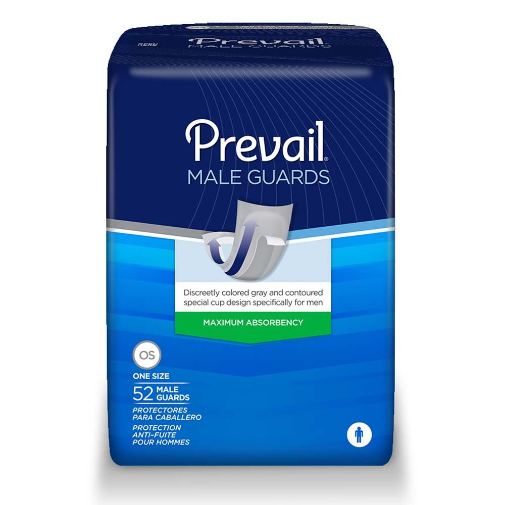 Prevail Guards for Men, Case/208 (4/52s)