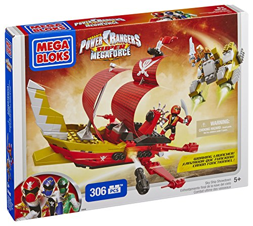 Mega Bloks Power Rangers Sky Ship Showdown