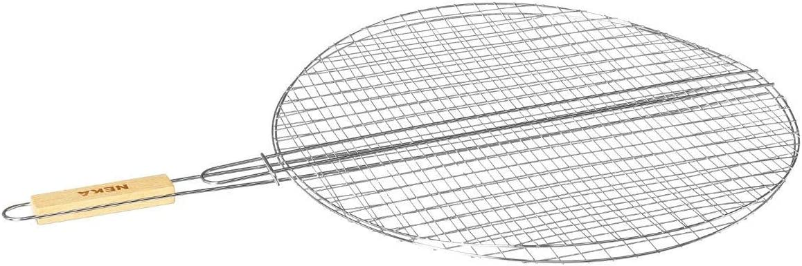 AC-Déco Secret de Gourmet - Rejilla redonda para barbacoa (50 cm)