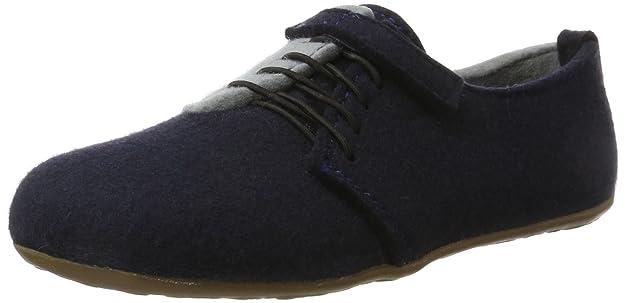 Everest Lars, Pantofole a Collo Alto Unisex-Adulto, Blu (Mittelblau 70), 42 EU Haflinger