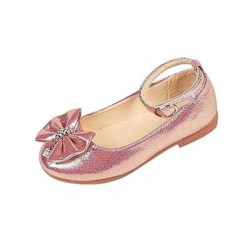 Zapatos Niñas Carnaval K-youth® Zapato Princesa Niña Sandalias de Vestido  Flat Shoes Bailarinas Princesa Zapatos con Tacón para Cumpleaños Fiesta  Cosplay  ... 480a9ceb5e9f