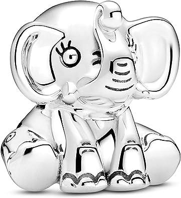 PANDORA Ellie The Elephant 925 Sterling Silver Charm - 799088C00