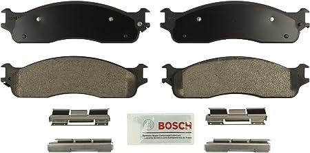 Disc Brake Pad Set-Blue Brake Pads with Hardware Front Bosch BE1089H