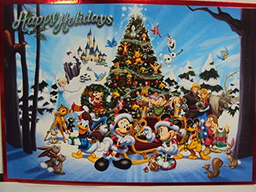 Disney Parks Exclusive : Storybook Christmas Card Set of 16