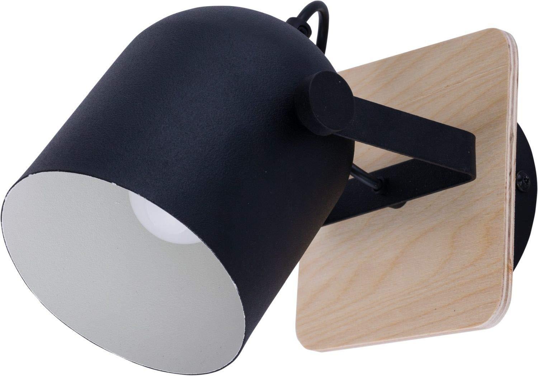 Spot Wei/ß Holz Metall 2-flammig l/änglich verstellbar ausgefallen GERRY Moderne Lampe Deckenleuchte Strahler