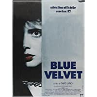 Blue Velvet Movie Hot New Classic Movie Cover Poster Canvas Print Painting Poster Home Wall Decor -50x70cm No Frame