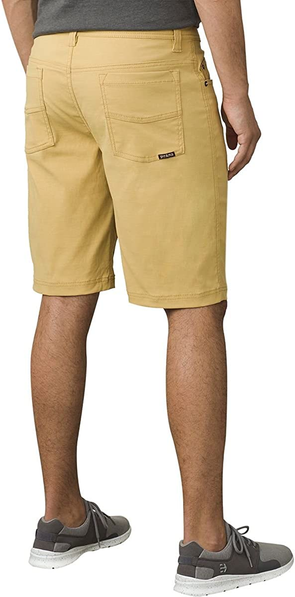 Mens Brion Lightweight Moisture-Wicking Shorts for Climbing and Everyday Wear PRANA Water-Repellent