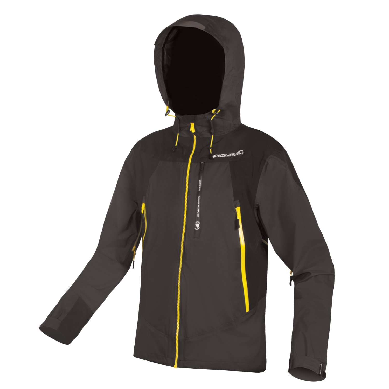 Endura MT500 Waterproof Cycling Jacket II Black, X-Large by Endura