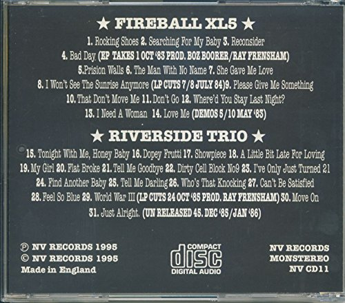 Fireball XL5 & The Riverside Trio (CD)