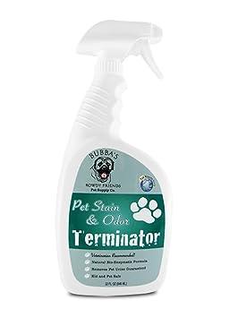 Enzima limpiador y quitamanchas Pet Odor Eliminator: La Mejor en Amazon garantizada para perro o