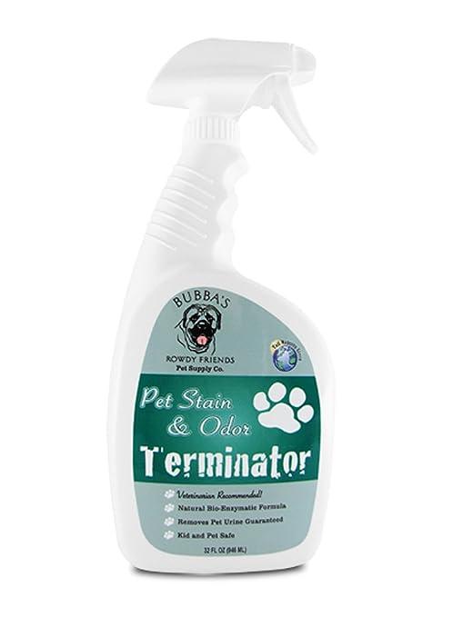 Enzima limpiador y quitamanchas Pet Odor Eliminator: La Mejor en Amazon garantizada para perro o gato orina ...