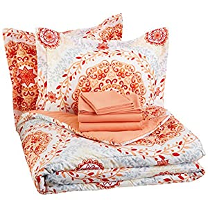 61zvPBpYsnL._SS300_ Coral Bedding Sets and Coral Comforters