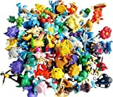24 Random & Unique Pokémon Anime Action Figure Cupcake Toppers